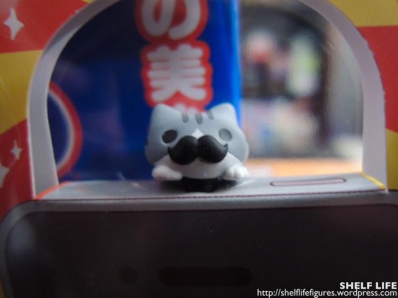November Loot II - Moustache Hanging Kitty