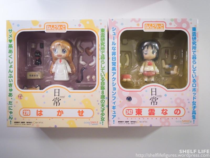Nichijou Nendoroids