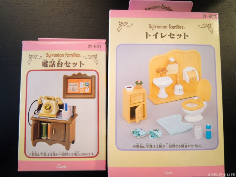 February Loot - Sylvanian Families Sets
