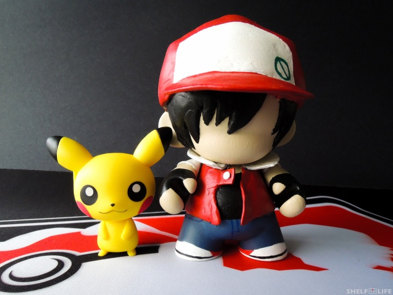 Custom Munny Red and Pikachu