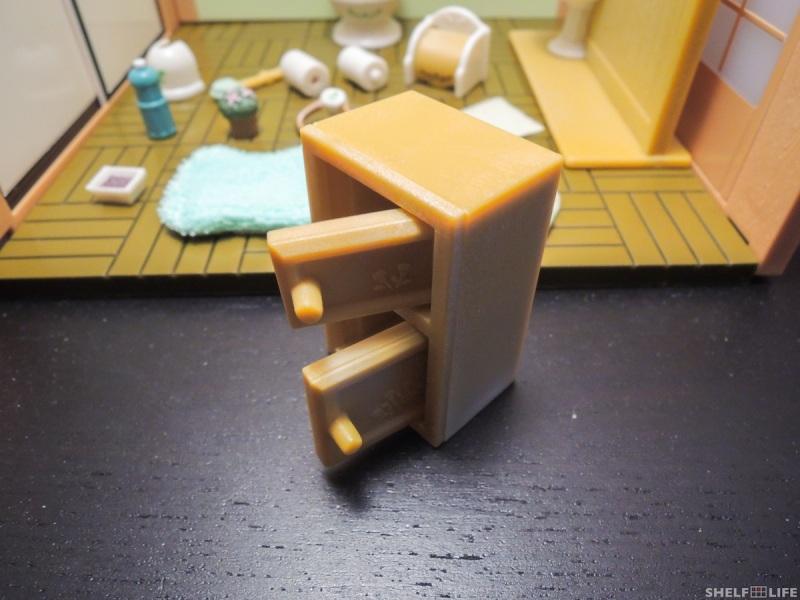 Sylvanian Families Toilet Set Shelf