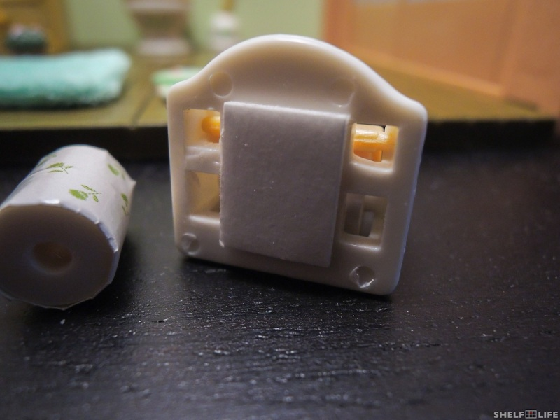 Sylvanian Families Toilet Set Toilet Paper Holder