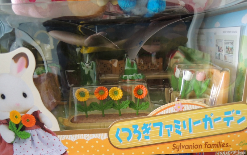 March/Japan Loot - Sylvanian Families Garden Set