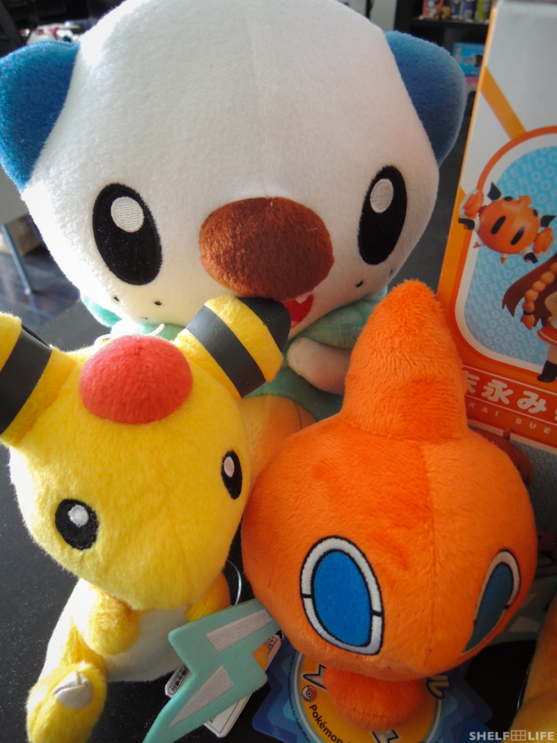 March/Japan Loot - Pokemon Plushies #1