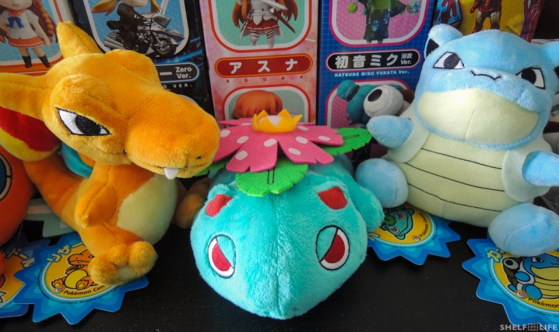 March/Japan Loot - Pokemon Plushies #2