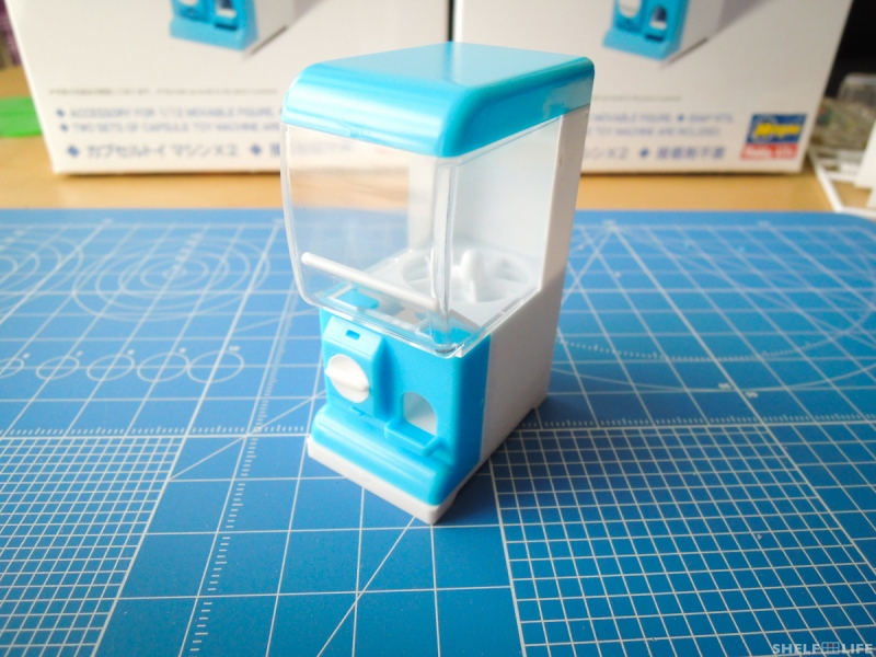 1/12 Capsule Toy Machine - Completed Machine