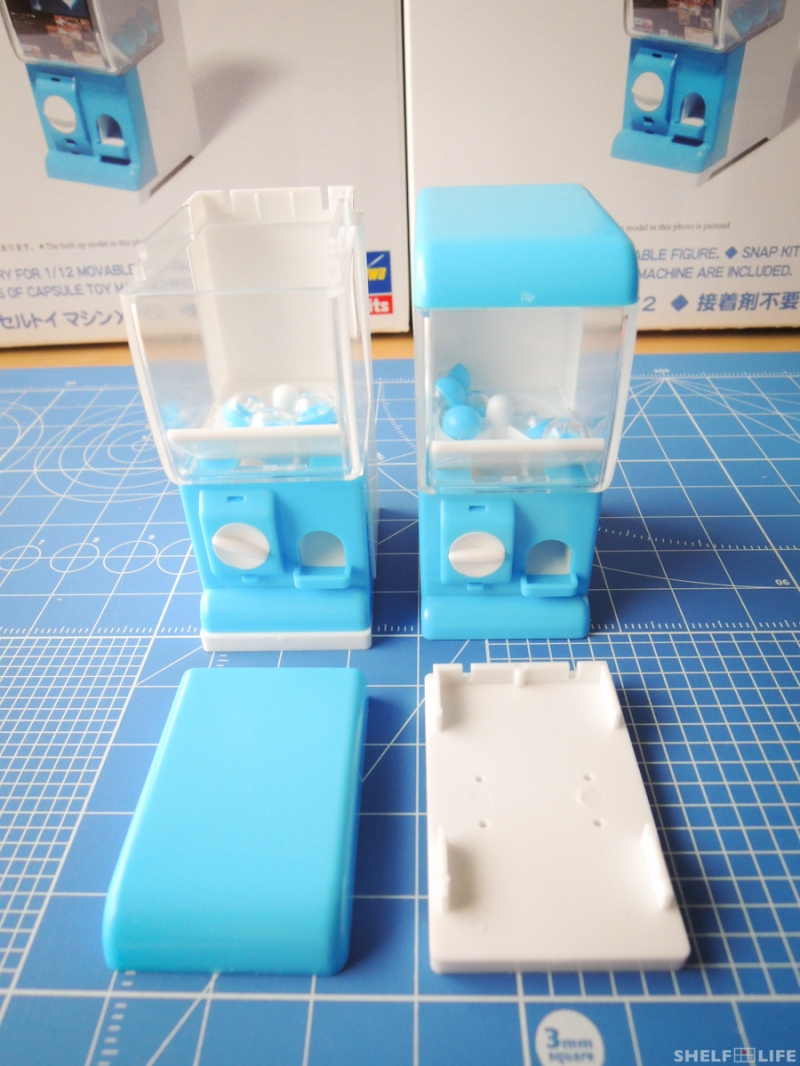 1/12 Capsule Toy Machine - How to Stack