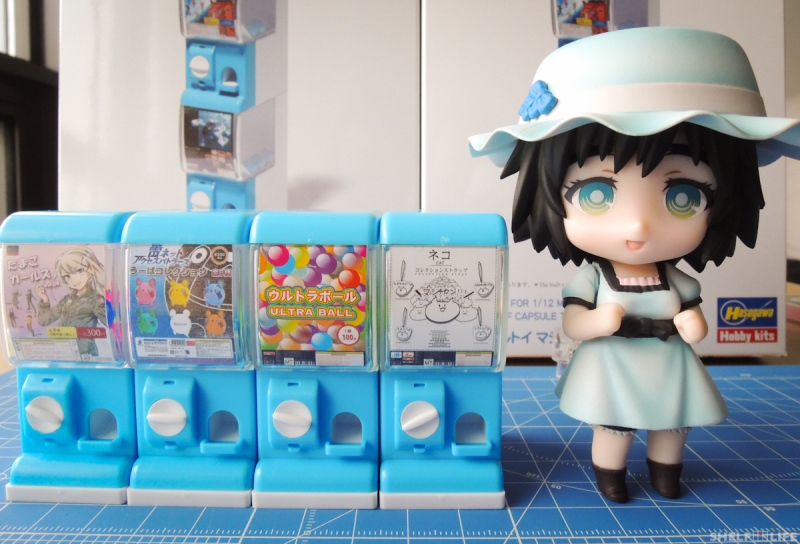 1/12 Capsule Toy Machine - Nendoroid Comparison
