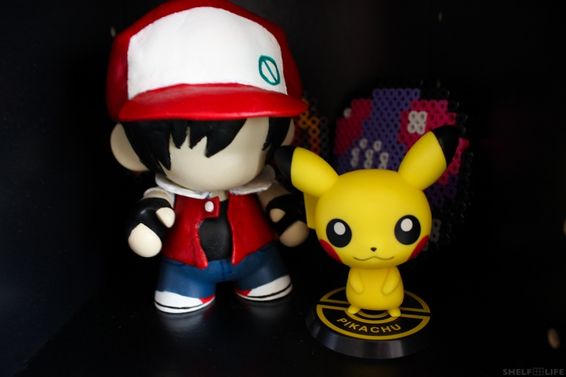 My Shelves - Red and Pikachu
