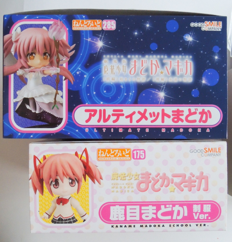 Nendoroid Ultimate Madoka - Box Compare