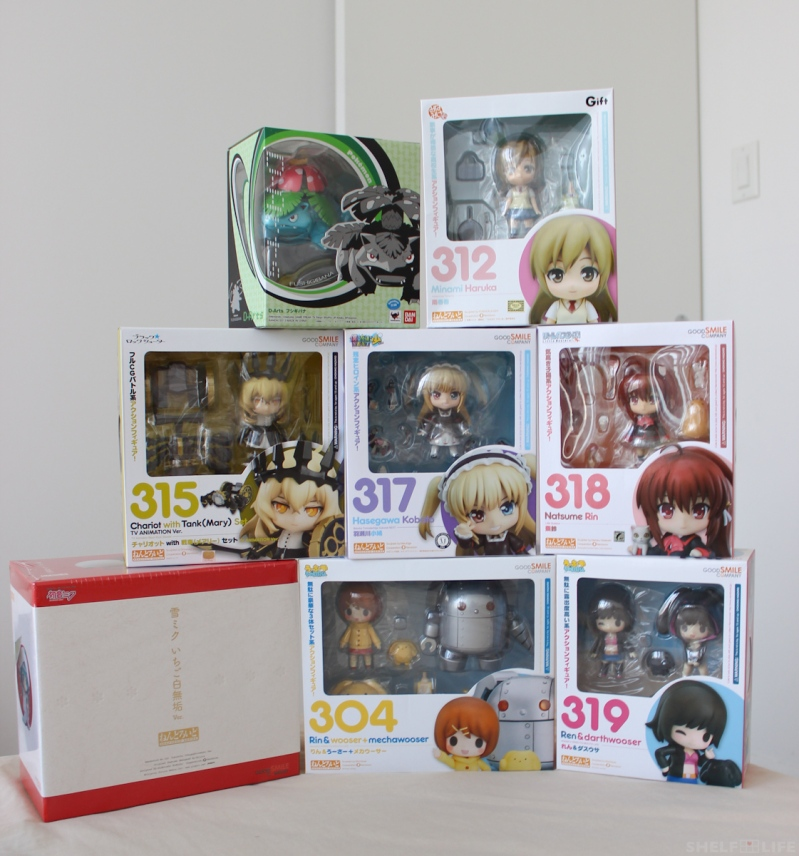 July/August Loot