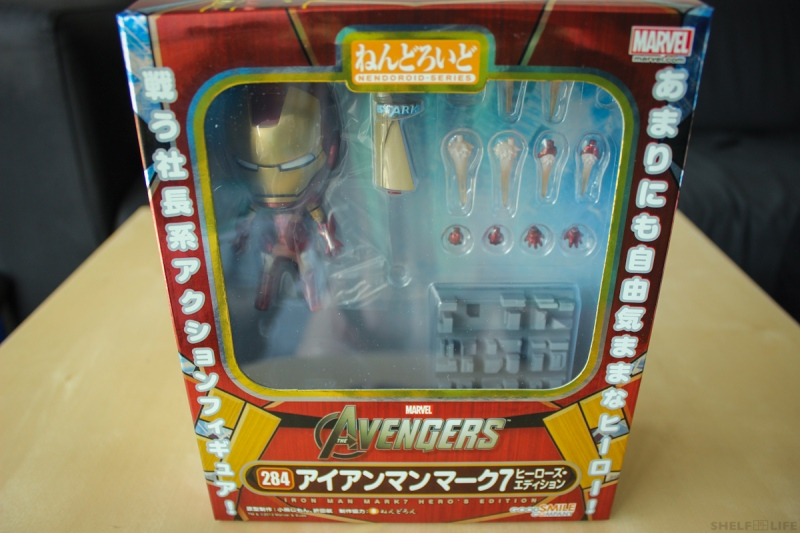 Nendoroid Iron Man Box Front