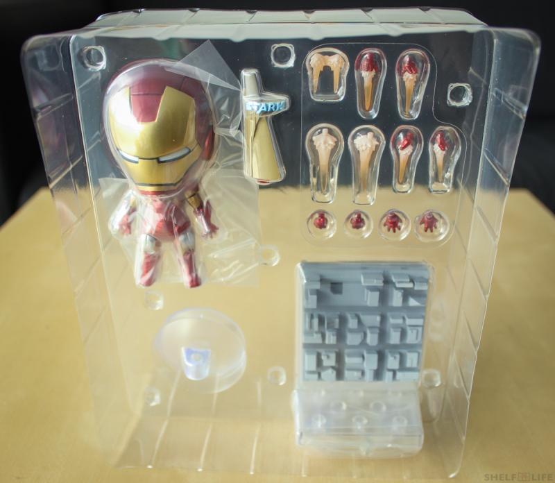 Nendoroid Iron Man Blister Front