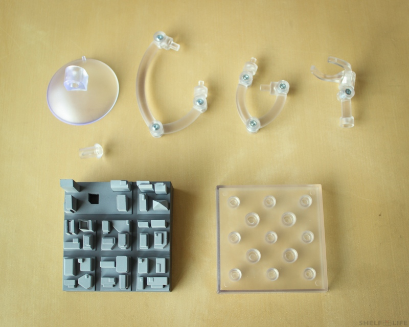 Nendoroid Iron Man Stand Parts