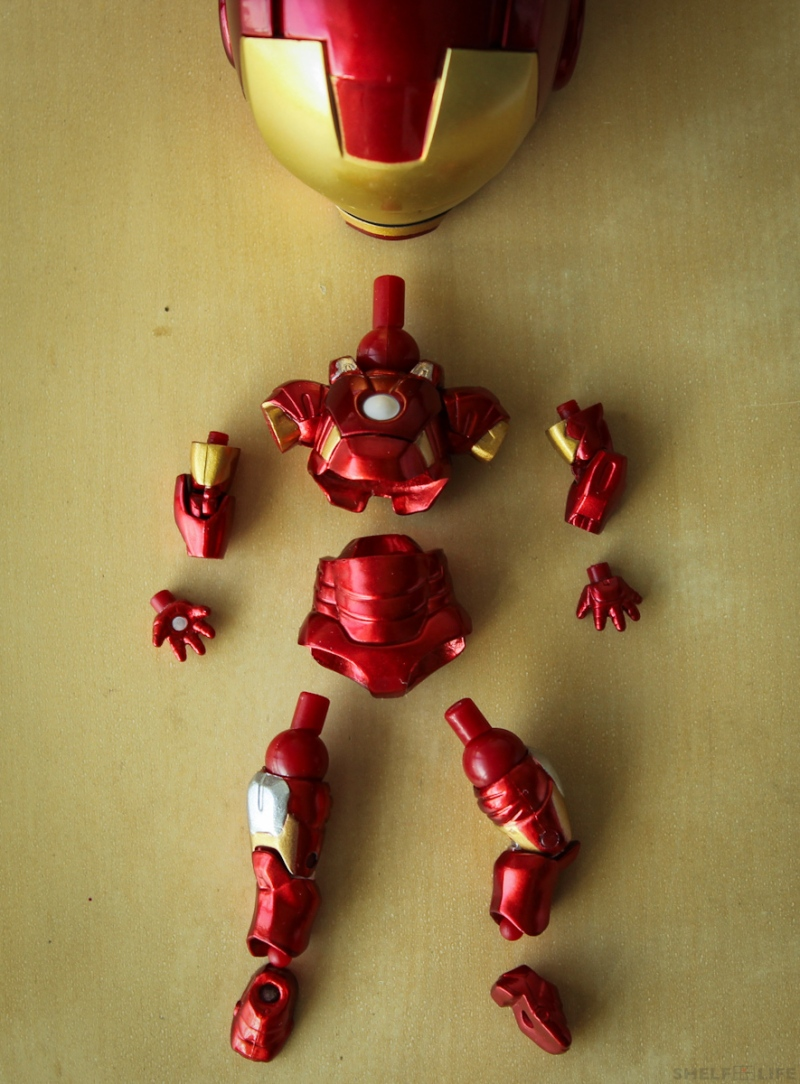 Nendoroid Iron Man Parts