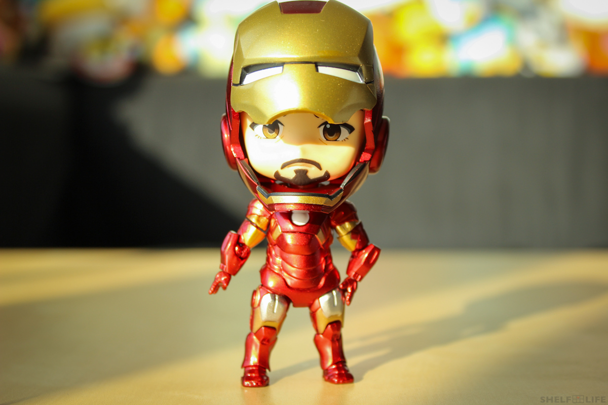 how to draw iron man chibi