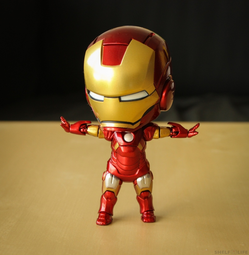 Nendoroid Iron Man Hands Open to the side