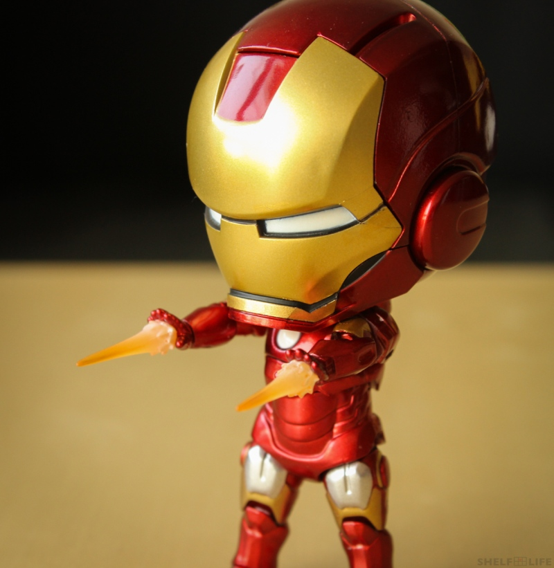 Nendoroid Iron Man Firing Effects Parts