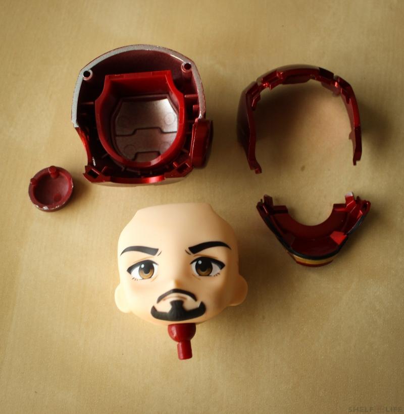 Nendoroid Iron Man Helmet Parts