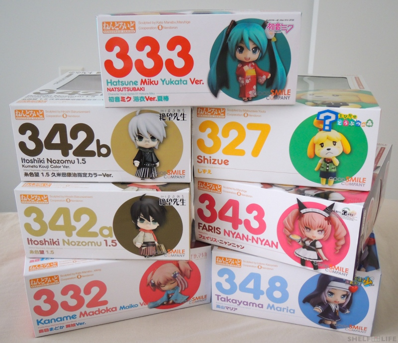 Sept+Oct Preorders - Nendoroids!