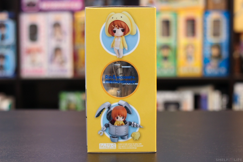Nendoroid Rin and Wooser - Box Right Side