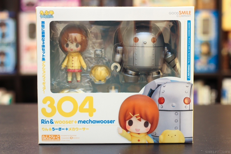 Nendoroid Rin and Wooser - Box Front