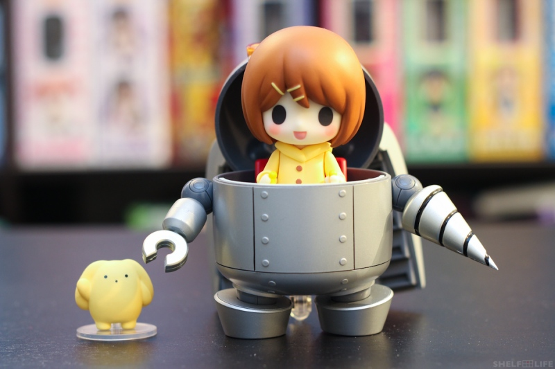 Nendoroid Rin and Wooser - Rin and Mechawooser