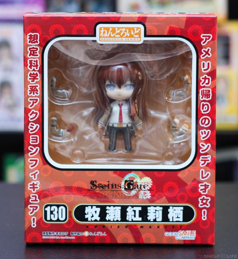 Nendoroid Makise Kurisu - Box Front