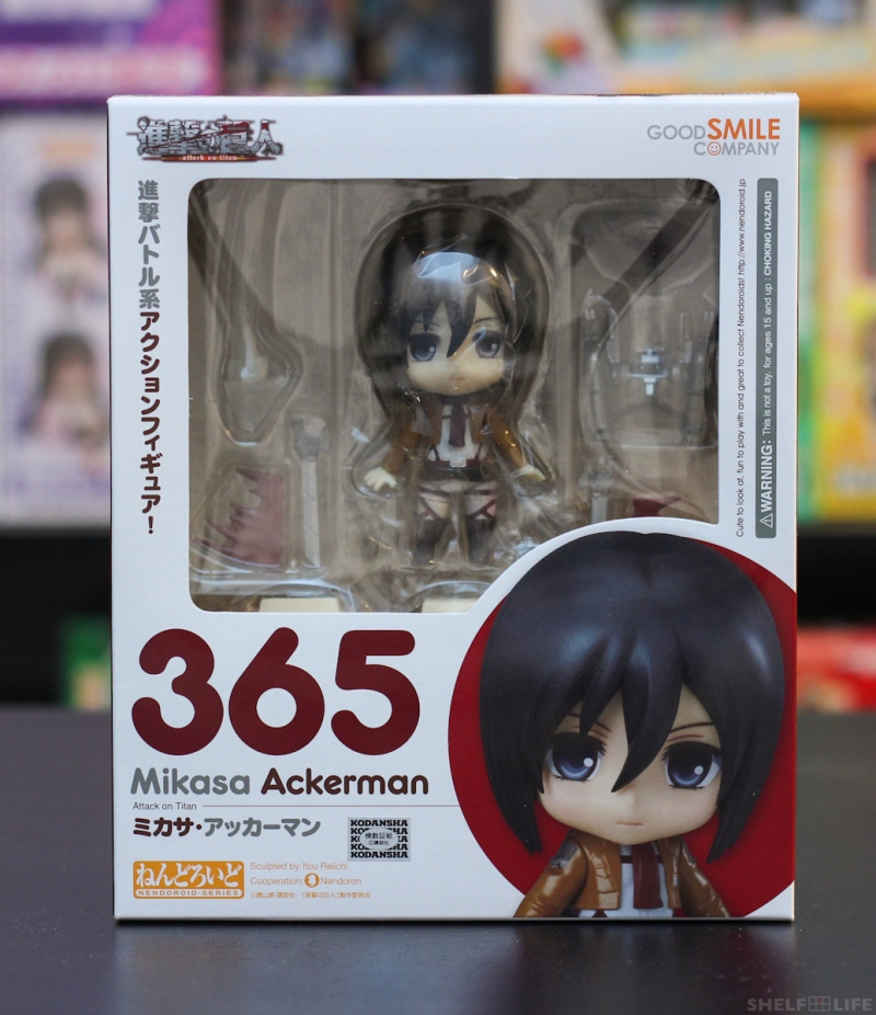 Nendoroid Mikasa - Box Front