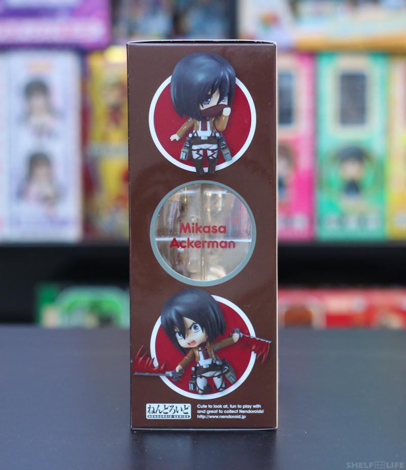 Nendoroid Mikasa - Box Left