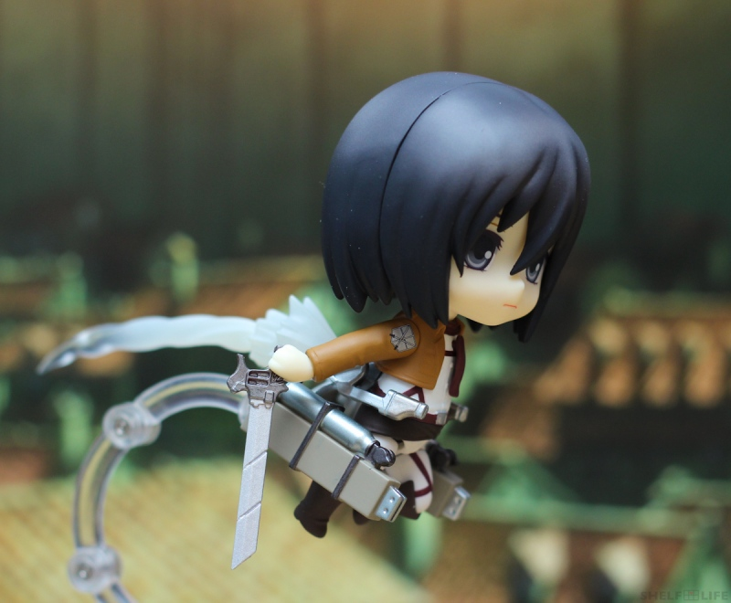 Nendoroid Mikasa - Travelling Effects