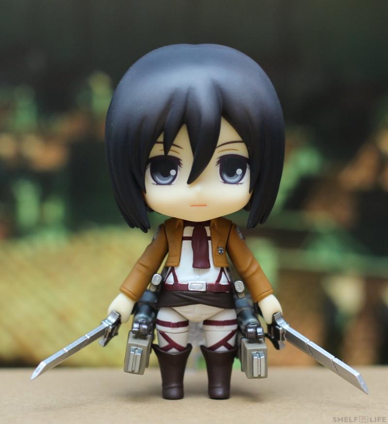 Nendoroid Mikasa - 3DMG Equip and Blades