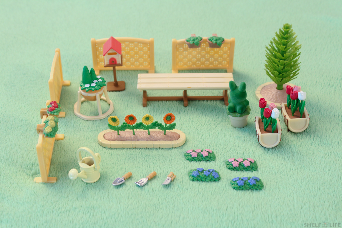 Review sylvanian families relaxing family garden