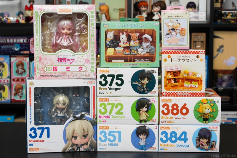Feb, April Preorders and Extras