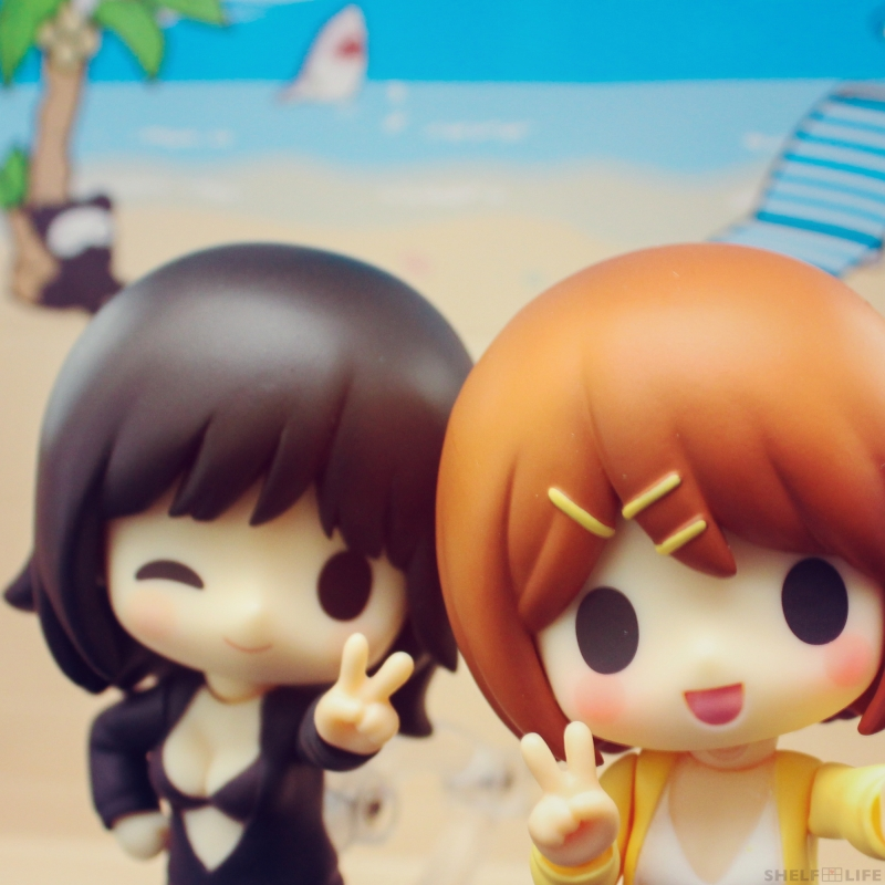 Rin and Ren Beach - v(^▽^)v