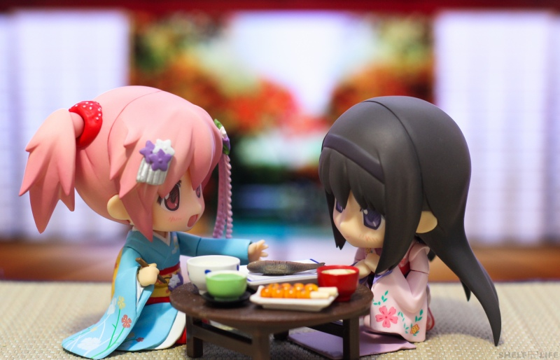 Madoka and Homura New Years - Food