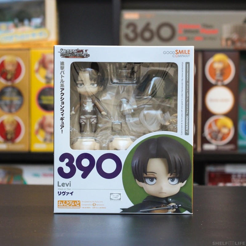Nendoroid Levi - Box Front