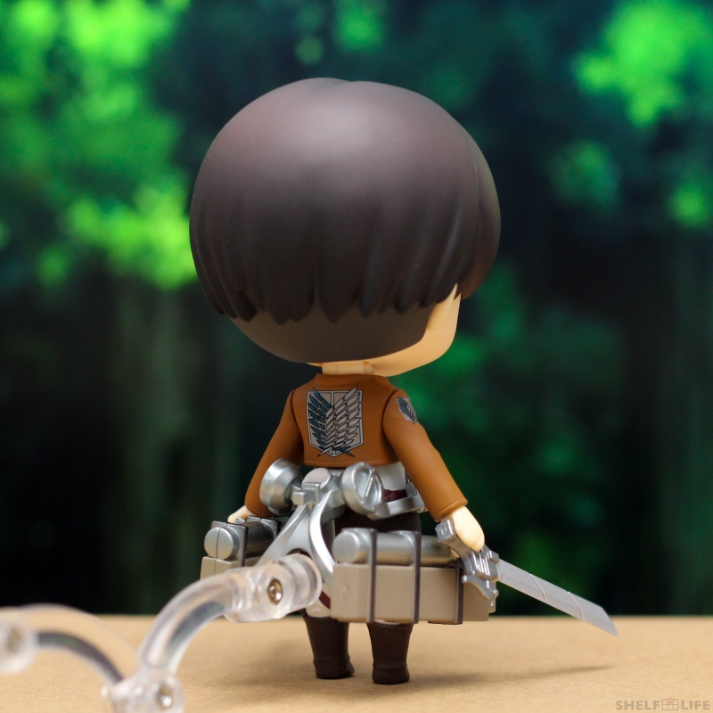 Nendoroid Levi - Back with maneuver gear