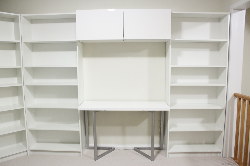 New Shelving - Table