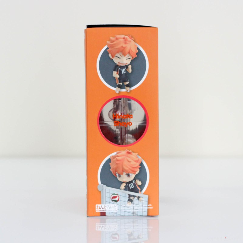 Nendoroid Hinata Shoyo - Box Side
